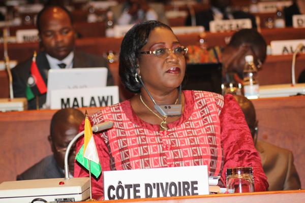 Pr Thérèse N'Dri Yoman, une Alysma haut fonctionnaire de la Côte d'Ivoire
