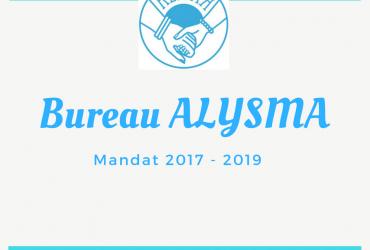 Le nouveau bureau Alysma 2017 – 2019