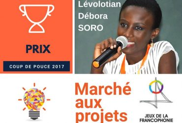Débora Soro, Alysma 2010 remporte un prix aux Jeux de la Francophonie Abidjan 2017